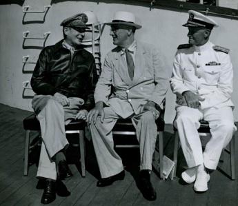FDR MacArthur and Nimitz
